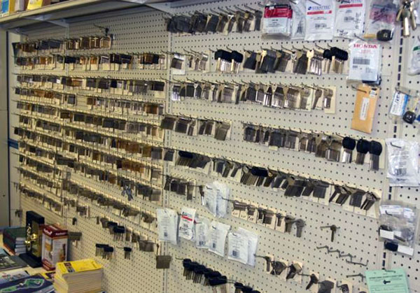Here's just a few of the key blanks we stock in our showroom.